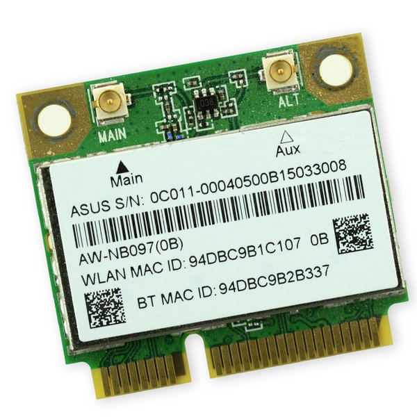 Asus G75VW-DS73-3D Wi-Fi Board