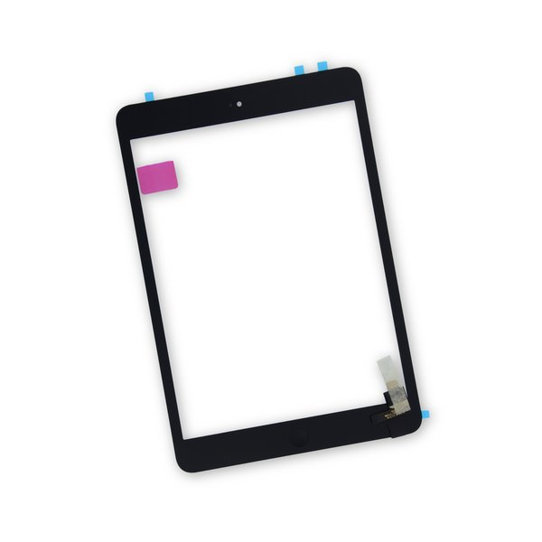 iPad mini 1/2 Screen / New / Part Only / Black / With Adhesive