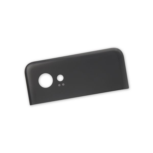 Google Pixel 2 XL Upper Rear Glass Panel / Black