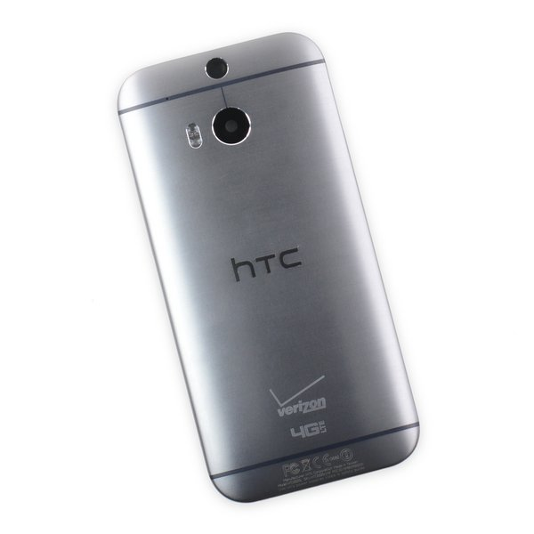 HTC One (M8, Verizon) Rear Case / Gray / A-Stock