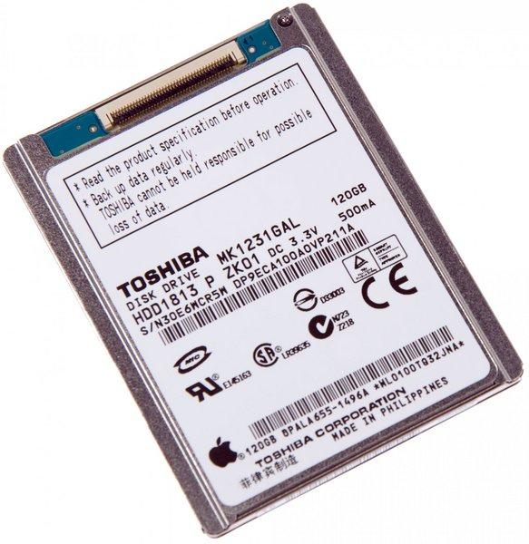iPod Classic 120 GB Hard Drive / Without Padding