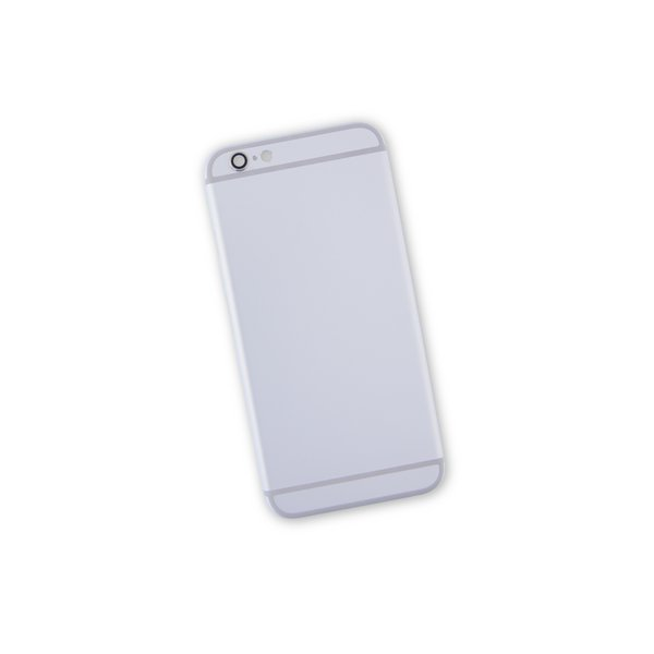 iPhone 6s Blank Rear Case / Silver