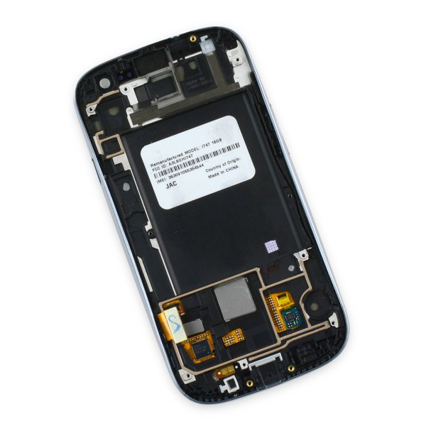 Galaxy S III Screen and Digitizer Assembly (AT&T/T-Mobile) / White / A-Stock