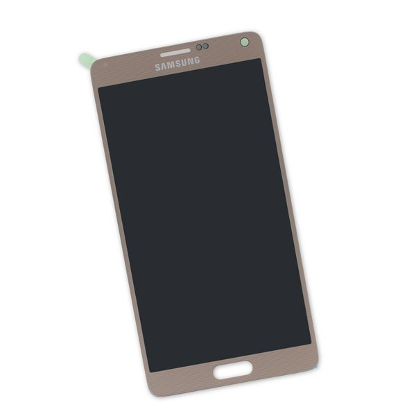 Galaxy Note 4 Screen / Gold / New / Part Only