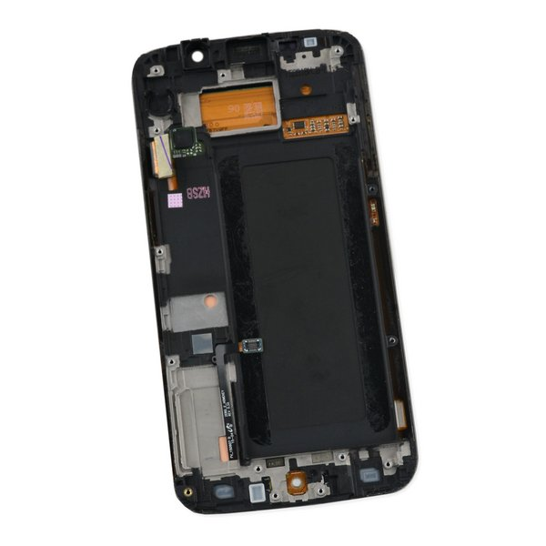 Galaxy S6 Edge LCD Screen and Digitizer Assembly (CDMA) / Gold / A-Stock