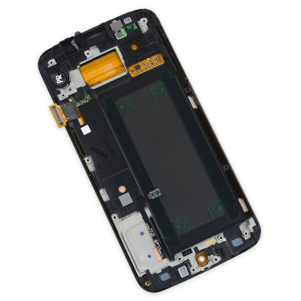 Galaxy S6 Edge LCD Screen and Digitizer Assembly (GSM) / Black / New