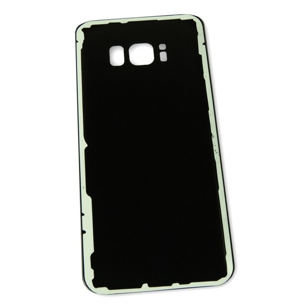 Galaxy S8 Aftermarket Blank Rear Glass Panel / Black