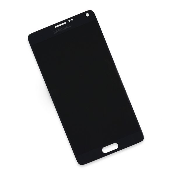 Galaxy Note 4 LCD Screen and Digitizer / Black / New / Part Only
