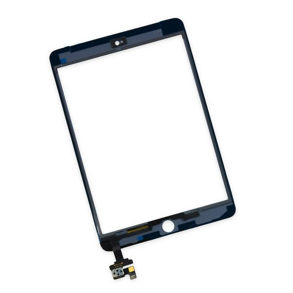 iPad mini 3 Front Glass/Digitizer Touch Panel / New / Part Only / White
