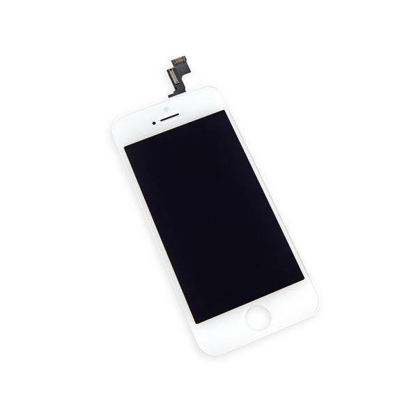 iPhone 5s LCD Screen and Digitizer / New / Part Only / White