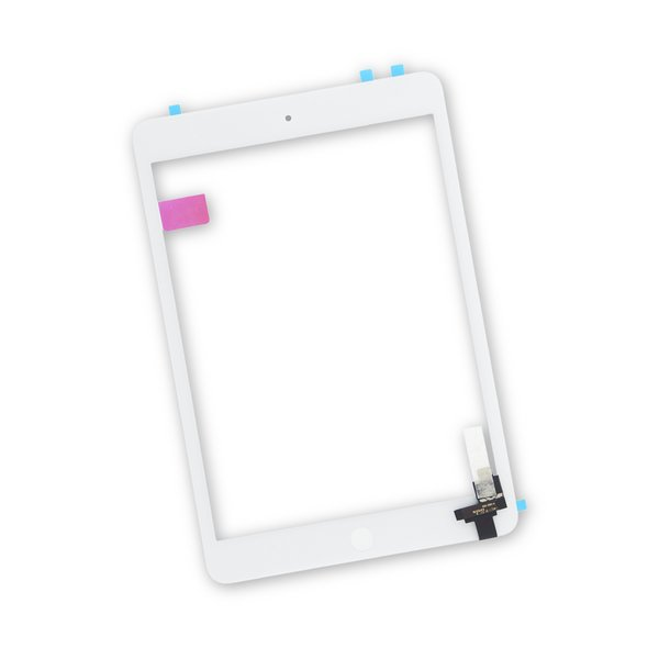 iPad mini 1/2 Screen / New / Part Only / White / With Adhesive