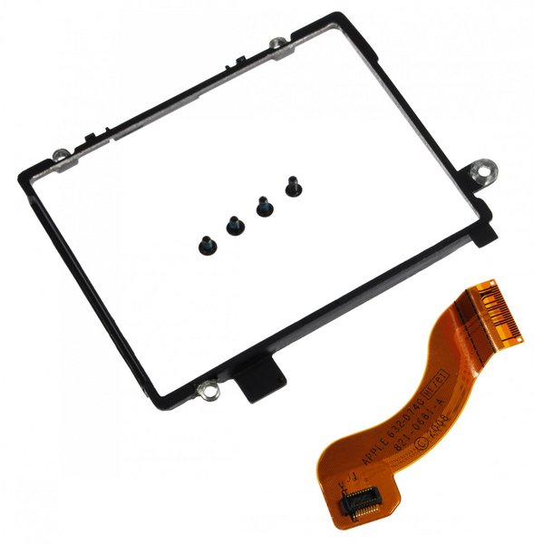 MacBook Air (Late 2008/Mid 2009) Hard Drive Bracket / With Screws and Cable