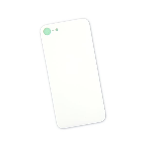 iPhone 8 Aftermarket Blank Rear Glass Panel / White
