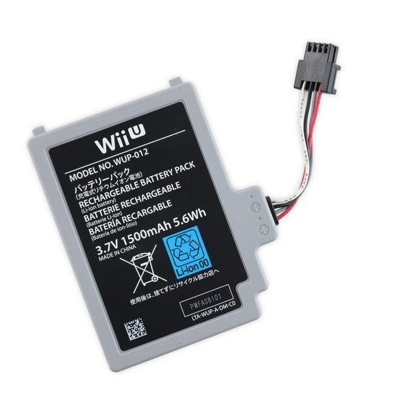 Nintendo Wii U GamePad Replacement Battery / Used
