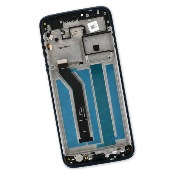 Moto G7 Power Screen / Blue / Part Only