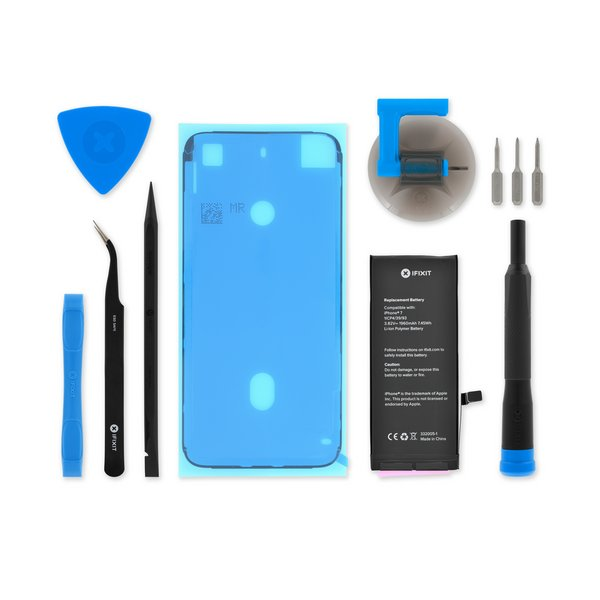 iPhone 7 Replacement Battery / Fix Kit with Adhesive