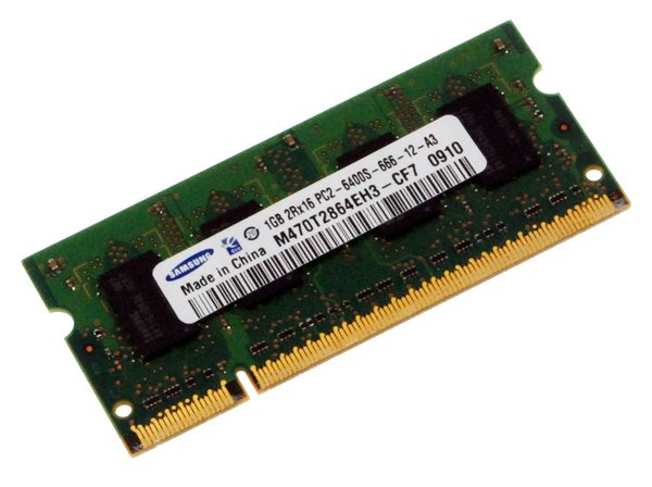 PC2-6400 1 GB RAM Chip
