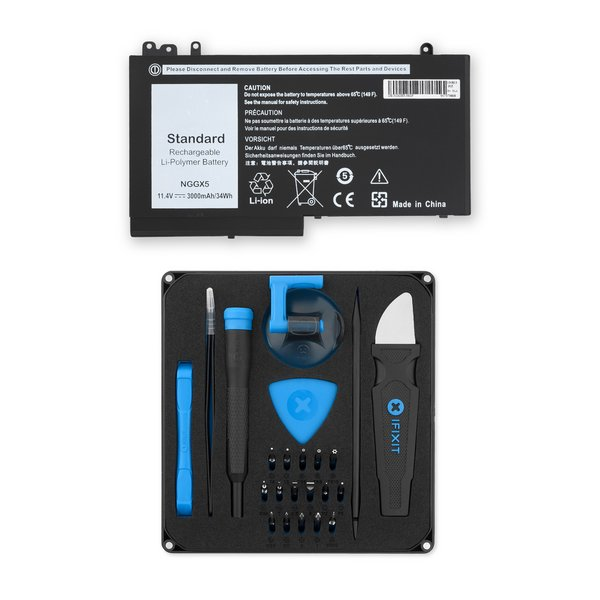 Dell Lattitude E5270 Replacement Laptop Battery / Fix Kit