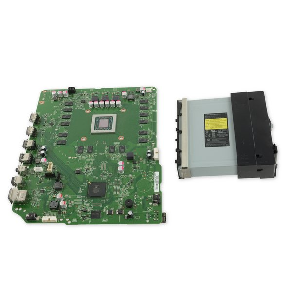 Xbox One S Motherboard and Paired Optical Drive