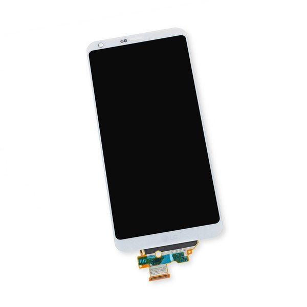 LG G6 LCD and Digitizer / White / Part Only