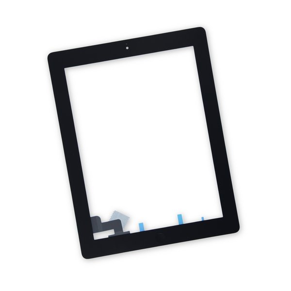 iPad 2 Screen Digitizer Assembly / New / Part Only / Black