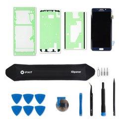 Galaxy S6 Edge+ Screen / Black / Fix Kit