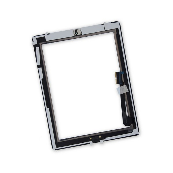 iPad 3 Screen Digitizer Assembly / New / Part Only / Black