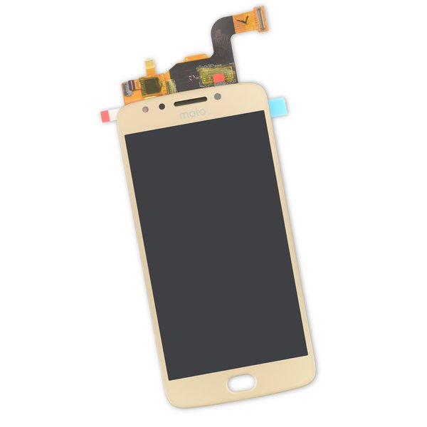 Moto E4 LCD and Digitizer / Gold