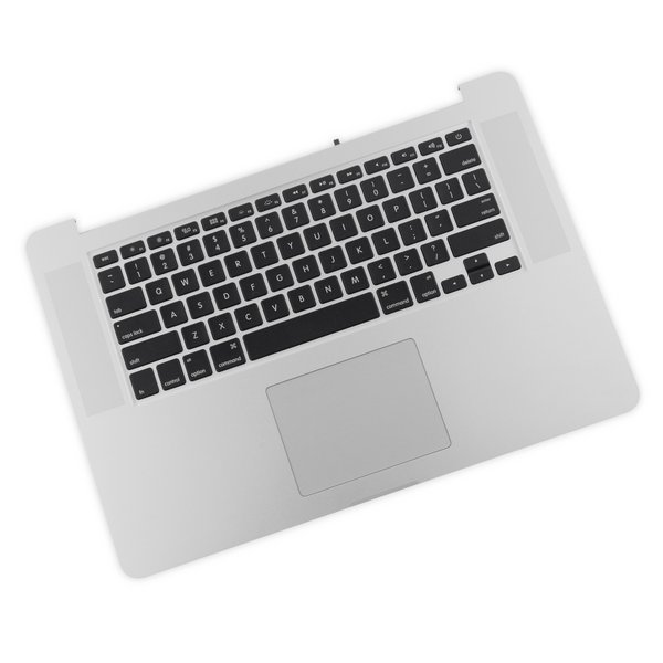"""MacBook Pro 15"""" Retina (Mid 2015) Upper Case Assembly / A-Stock / With Trackpad and Battery"""