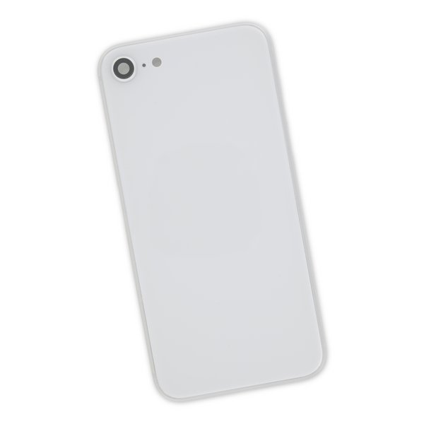 iPhone 8 Aftermarket Blank Rear Case / Silver
