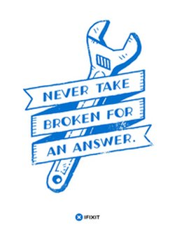 Never Take Broken Poster