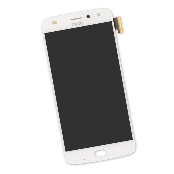 Moto Z2 Play Screen / White / Part Only