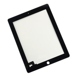 iPad 2 Screen Digitizer / New / Part Only / Black / Without Adhesive Strips