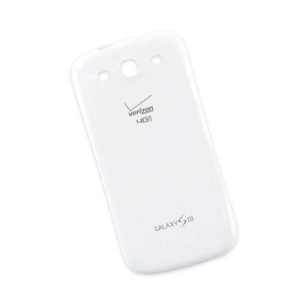 Galaxy S III Battery Cover (Verizon) / White / New / GH98-26808A