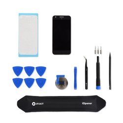 Google Pixel Screen and Digitizer / Black / New / Fix Kit