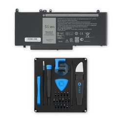 Dell Latitude 3150/3160/E5250/E5450/E5550 7.4V Replacement Laptop Battery / Fix Kit