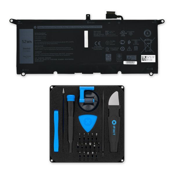 Dell XPS 13 7390, 9370, and 9380 Replacement Battery / Fix Kit