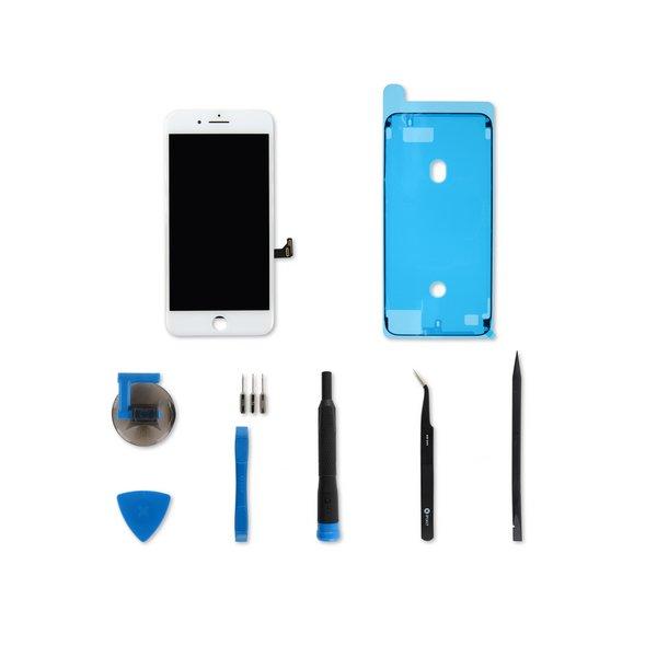 iPhone 8 Plus Screen / White / Fix Kit