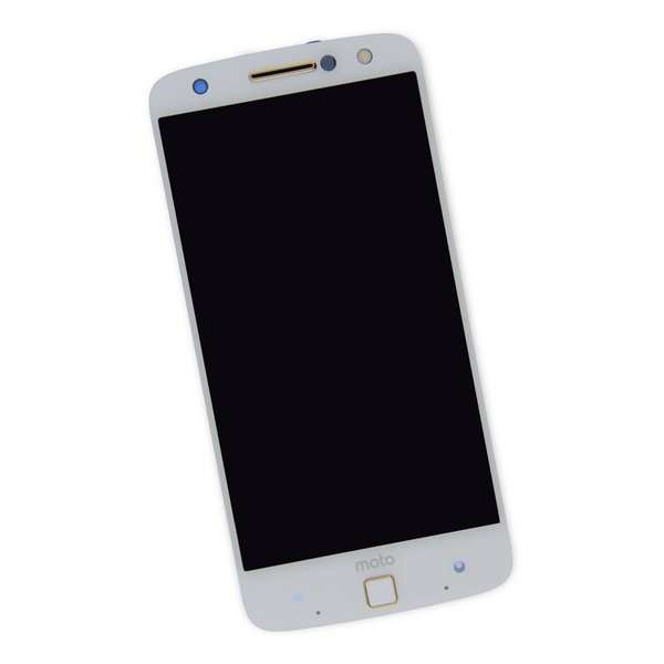 Moto Z Force Droid Screen / White / Part Only