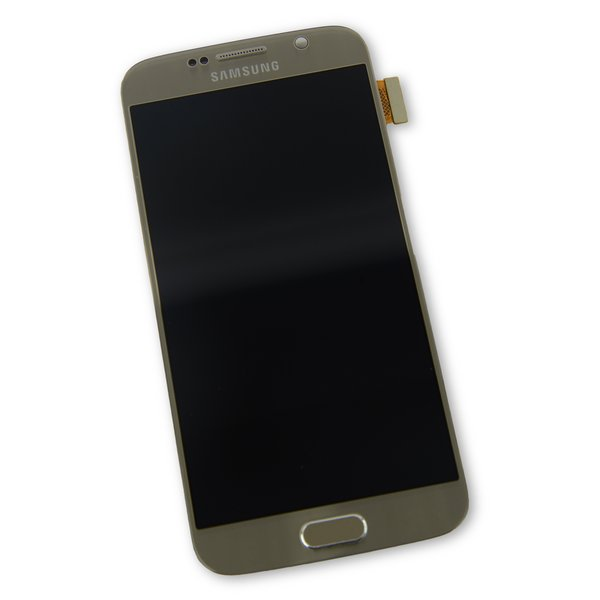 Galaxy S6 Screen and Digitizer Assembly (Sprint) / Gold / A-Stock