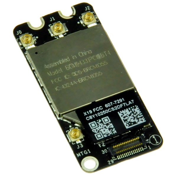 MacBook Pro Unibody (Early 2011-Mid 2012) AirPort/Bluetooth Board / Bluetooth 2.1