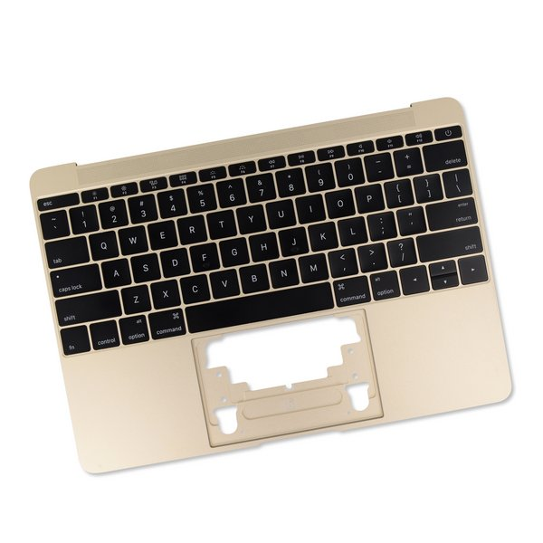 "MacBook 12"" Retina (Early 2016-2017) Upper Case with Keyboard / Gold / New"