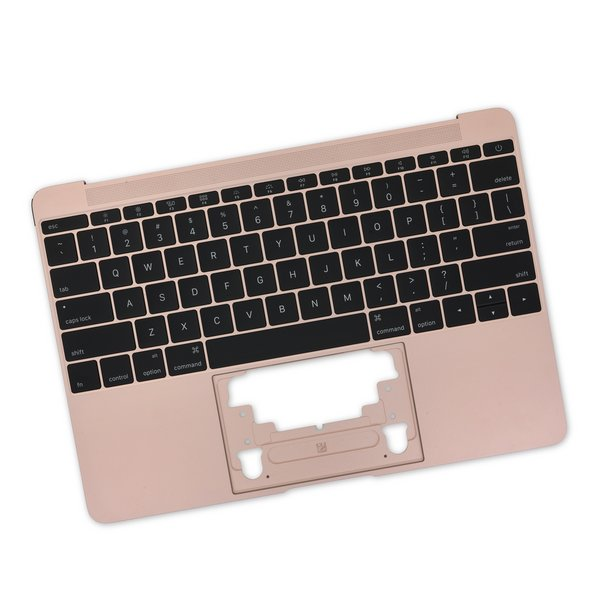 "MacBook 12"" Retina (Early 2016-2017) Upper Case with Keyboard / Rose Gold / New"