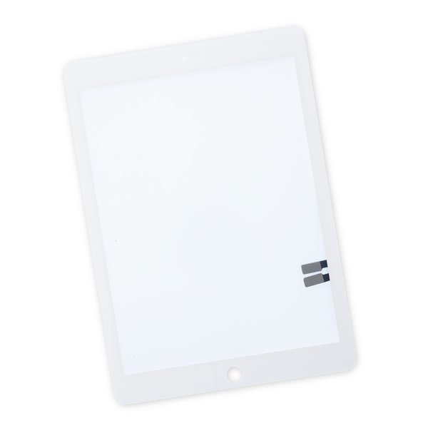 iPad 6 Front Glass/Digitizer Touch Panel / White