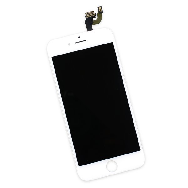 iPhone 6 Display Assembly / White / A-Stock