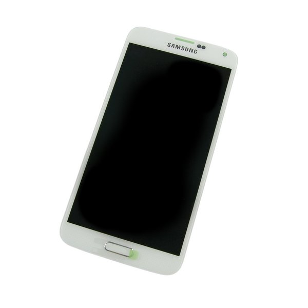 Galaxy S5 LCD Screen and Digitizer / White / New / Part Only