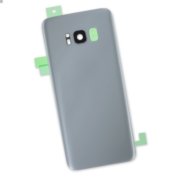 Galaxy S8 Rear Glass Panel/Cover / Part Only / Silver