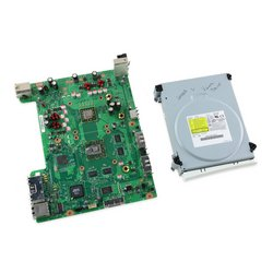 Xbox 360 Jasper Motherboard and Paired Optical Drive