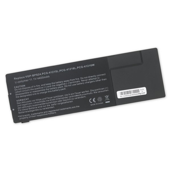 Sony VGP-BPL24 and VGP-BPS24 Replacement Laptop Battery