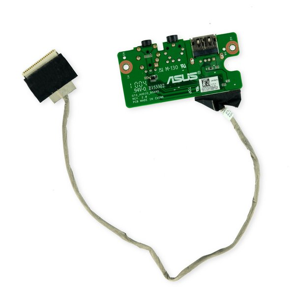ASUS ROG G73Jh Audio Ports